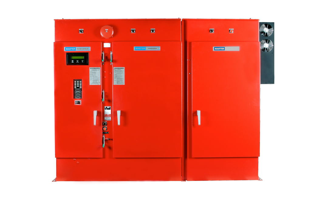 Variable Speed Fire Pump Controller - Closed Door