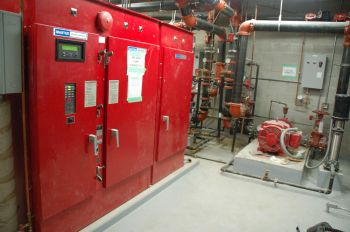VFD Fire Pump Controller in a high rise