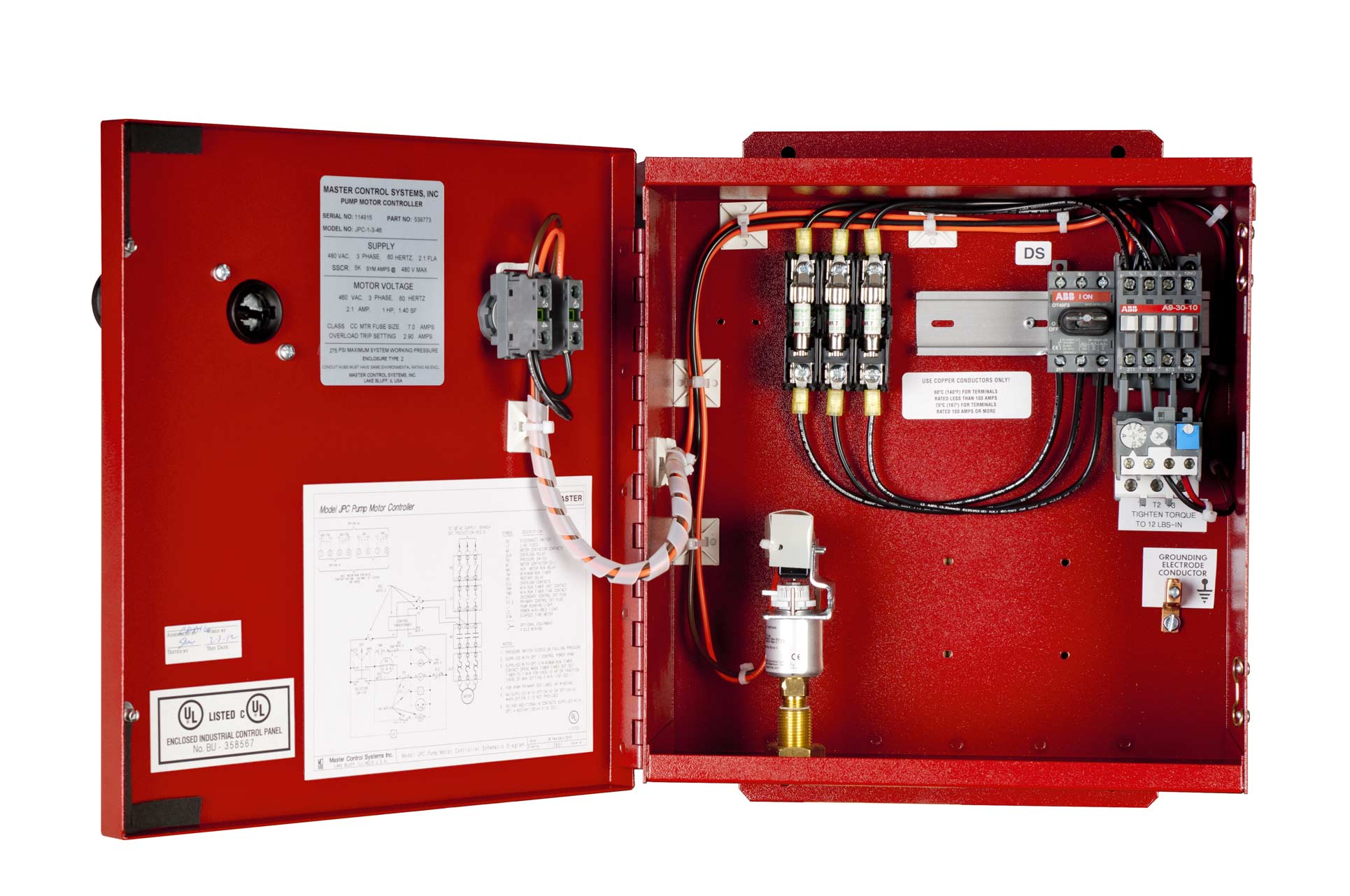 tornatech electric fire pump controller manual