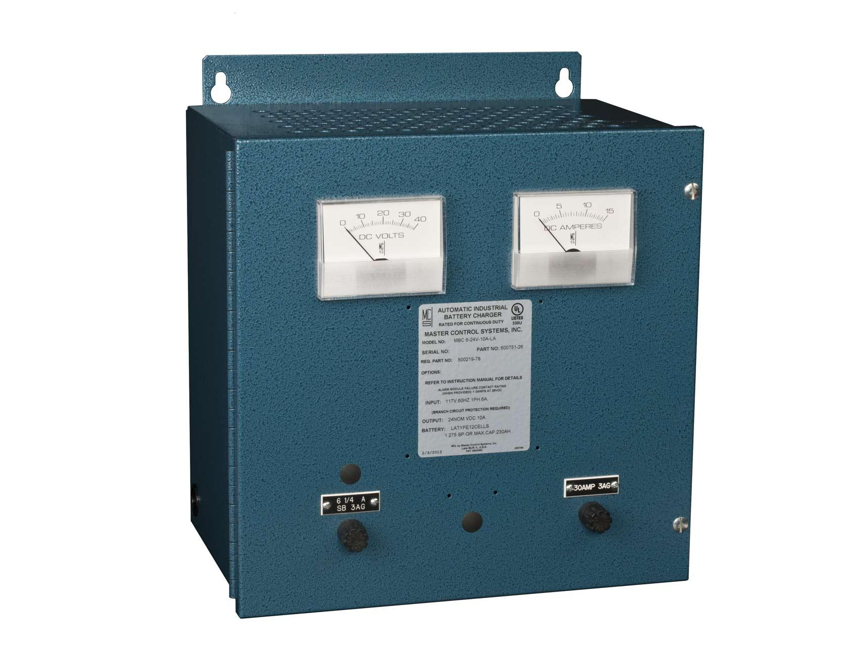 MBC6 Industrial Battery Chargers