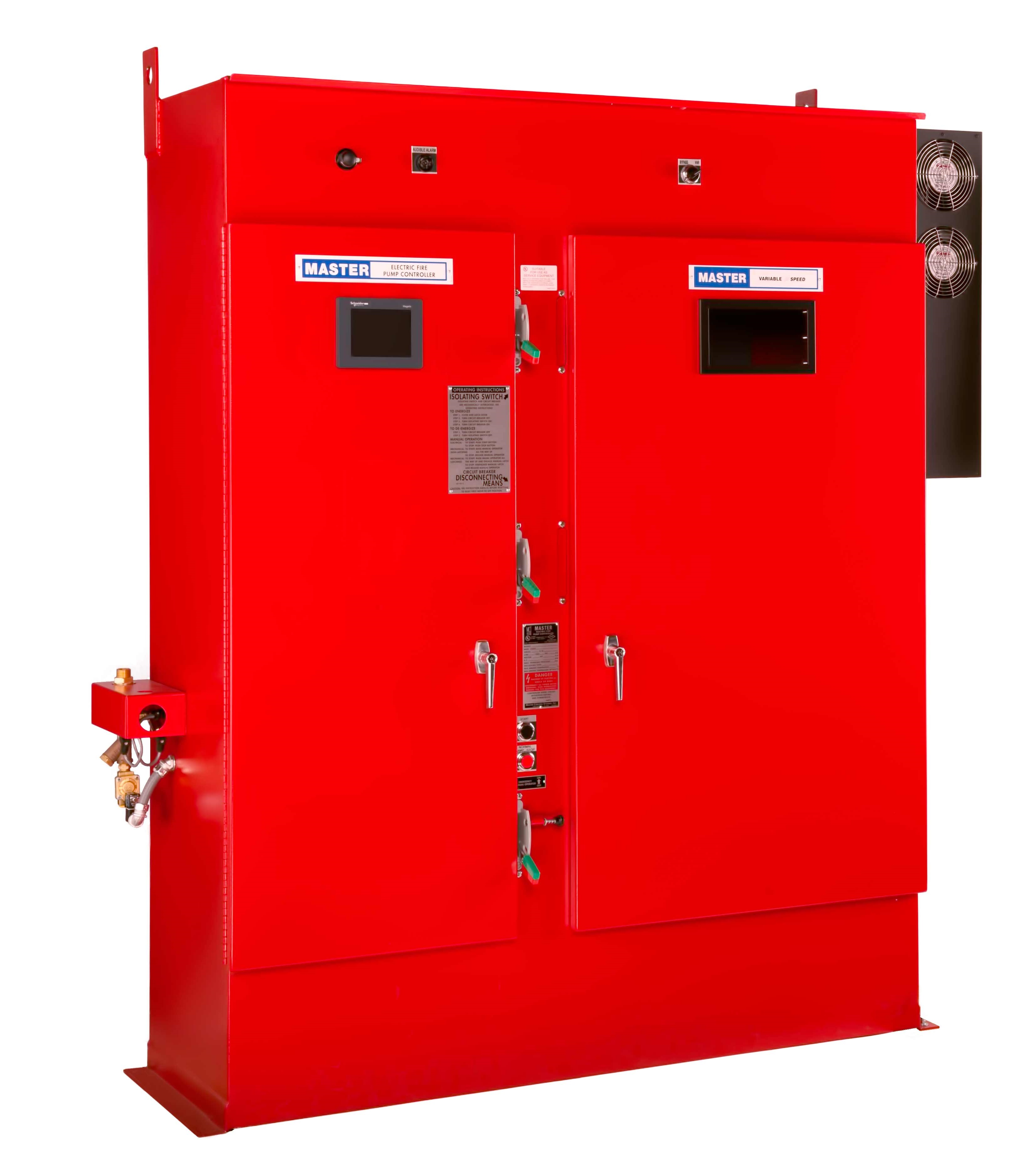Variable Frequency Drive Fire Pump Controller - Closed Door